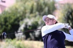 Guillaume Cambis bij het golf Prevens Trpohee 2009 stock afbeelding