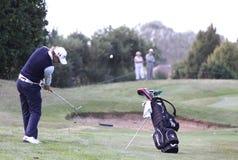 Guillaume Cambis bij het golf Prevens Trpohee 2009 stock afbeeldingen