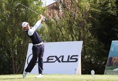 Guillaume Cambis bij het golf Prevens Trpohee 2009 royalty-vrije stock afbeeldingen
