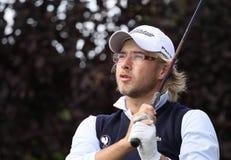 Guillaume Cambis bij het golf Prevens Trpohee 2009 stock fotografie