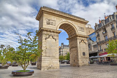 Guillaume gate on Darcy square in Dijon, France Stock Image