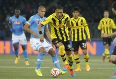 Guillaume Hoarau Young Boys Berne v FC Naples Liga Europa Royalty Free Stock Photos
