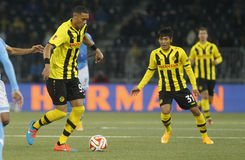 Guillaume Hoarau Young Boys Berne v FC Naples Liga Europa Stock Photos