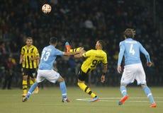 Guillaume Hoarau Young Boys Berne v FC Naples Liga Europa Royalty Free Stock Photo