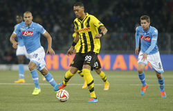 Guillaume Hoarau Young Boys Berne v FC Naples Liga Europa Royalty Free Stock Photography