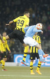 Guillaume Hoarau Young Boys Berne v FC Naples Liga Europa Stock Photo
