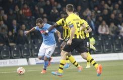 Guillaume Hoarau Young Boys Berne v FC Naples Liga Europa Stock Image