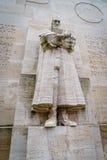 Guillaume le Taciturne, hervormingsmuur, Genève, Zwitserland Stock Fotografie