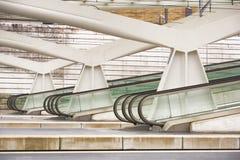 guillemins σιδηροδρομικός σταθμός της Λιέγης Στοκ εικόνα με δικαίωμα ελεύθερης χρήσης