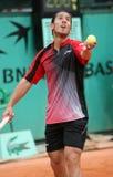 Guillermo Canas bei Roland Garros Stockfotografie