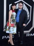 Guillermo del Toro και Lorenza Newton Στοκ εικόνες με δικαίωμα ελεύθερης χρήσης