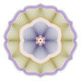 Guilloché rosett Arkivbilder
