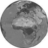 Guilloche Африки Стоковые Изображения RF