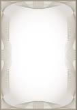 guilloche рамки Стоковые Изображения RF