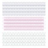 Guilloche Achtergrondpatroon voor Certificaat Vectorillustratie Stock Fotografie