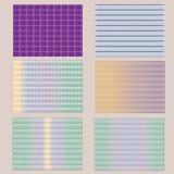 Guilloche Achtergrondpatroon voor Certificaat Vectorillustratie Royalty-vrije Stock Afbeelding