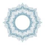 Guilloche decoratief element voor ontwerpcertificaat, diploma en bankbiljet vector illustratie
