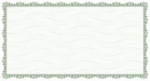 Guilloche - frame met achtergrond Stock Fotografie