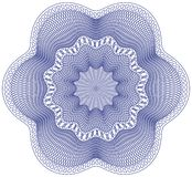 guilloche różyczkę Obraz Royalty Free