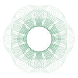 Guilloche rosette Royalty Free Stock Photography