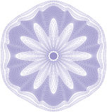 Guilloche rosette  pattern Stock Photography