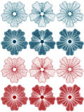 Guilloche - rosettes Royalty Free Stock Image