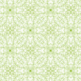 Guilloche seamless abstract background pattern. Seamless abstract background pattern with green guilloche ornament isolated on white transparent background. For royalty free illustration