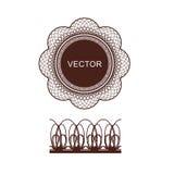 Guilloshi vektor Royalty Free Stock Images