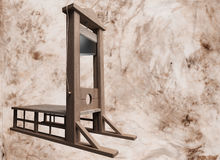 Guillotine Stock Photography
