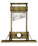 Guillotine (front view) Royalty Free Stock Image