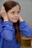 Guilty girl Stock Photos