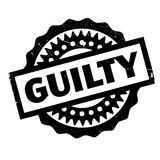 Guilty rubber stamp Royalty Free Stock Images