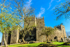 Guimarães kasztel, Portugalia Zdjęcie Royalty Free