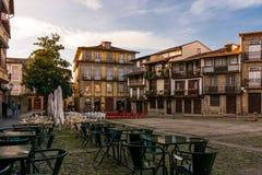 Guimarães, quadratisches Sº Tiago Stockfotos