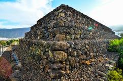Guimar金字塔 库存照片