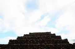Guimar金字塔 免版税库存图片