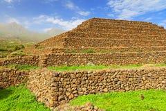 Guimar pyramid Arkivbild