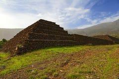 Guimar pyramid Fotografering för Bildbyråer