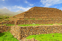 Guimar pyramid Stock Photography