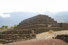 Guimar pyramids Royalty Free Stock Photos