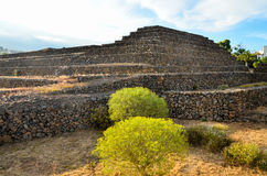 Guimar Pyramids Stock Photography