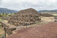 Guimar Pyramids, Tenerife Island Royalty Free Stock Photo