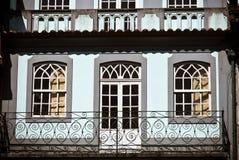 Guimaraes balcony Royalty Free Stock Photo