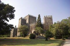 Guimaraes castle stock photo