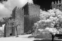 Guimaraes Castle Royalty Free Stock Image