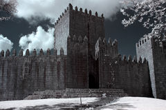 Guimaraes Castle Royalty Free Stock Photo