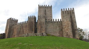 Guimaraes Castle, Portugal Royalty Free Stock Images