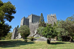 Guimaraes Castle, Portugal Royalty Free Stock Image