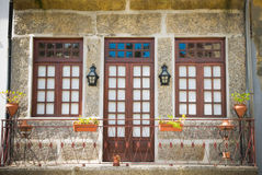 Guimaraes house Stock Photography