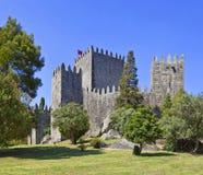 Guimaraes kasztel, Portugalia obrazy royalty free